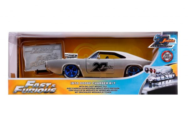 31092 1.24 jada 20th fast furious 1970 dodge charger 8 - 1970 DODGE CHARGER R/T – FAST & FURIOUS