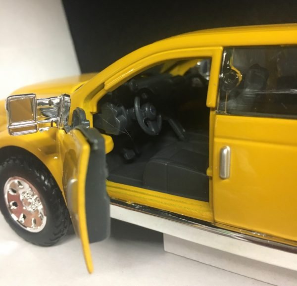 31213a - FORD MIGHTY F-350 SUPER DUTY PICK UP TRUCK - YELLOW - 1:31 SCALE