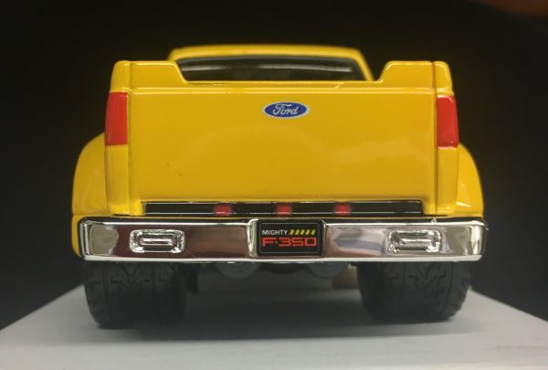 31213b - FORD MIGHTY F-350 SUPER DUTY PICK UP TRUCK - YELLOW - 1:31 SCALE