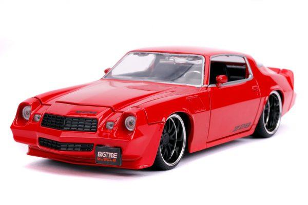 31458 1.24 btm 1979 chevy camaro z28 glossy red 1 - 1979 CHEVY CAMARO Z28- RED