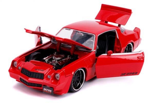 31458 1.24 btm 1979 chevy camaro z28 glossy red 3 - 1979 CHEVY CAMARO Z28- RED