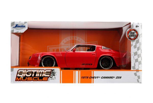 31458 1.24 btm 1979 chevy camaro z28 glossy red 5 - 1979 CHEVY CAMARO Z28- RED