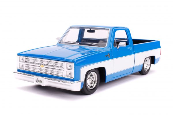 31606 1.24 jt 1985 chevy c10 stock g.blue 1 scaled - 1985 CHEVY C10 PICKUP TRUCK STOCK - JUST TRUCKS (NEW)