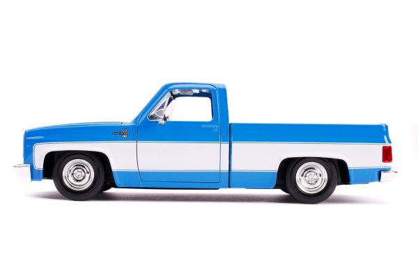 31606 1.24 jt 1985 chevy c10 stock g.blue 2 - 1985 CHEVY C10 PICKUP TRUCK STOCK - JUST TRUCKS (NEW)