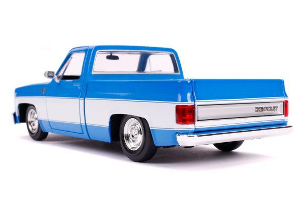 31606 1.24 jt 1985 chevy c10 stock g.blue 3 - 1985 CHEVY C10 PICKUP TRUCK STOCK - JUST TRUCKS (NEW)