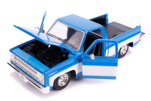 31606 1.24 jt 1985 chevy c10 stock g.blue 4 - 1985 CHEVY C10 PICKUP TRUCK STOCK - JUST TRUCKS (NEW)