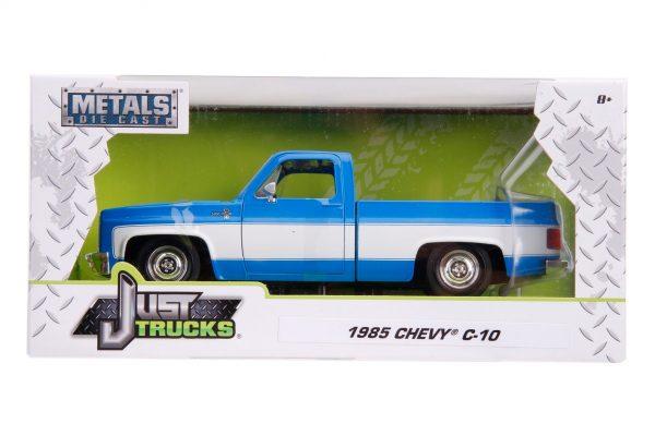 31606 1.24 jt 1985 chevy c10 stock g.blue 5 - 1985 CHEVY C10 PICKUP TRUCK STOCK - JUST TRUCKS (NEW)