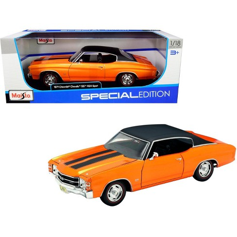 31890or1 - 1971 Chevrolet Chevelle SS454 Sport Coupe in Orange - Special Edition