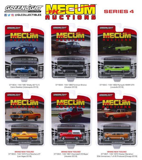 37190set - 1972 Checker Marathon 50th Anniversary - 1 of 45 Produced (Chicago 2018)
