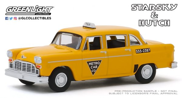 44855c - 1968 Checker Taxi - Starsky and Hutch (TV Series, 1975-79) - Metro Cab Co.