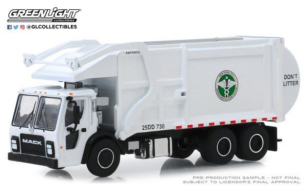 45080c - 2019 Mack LR Front Load Refuse Truck - New York City Dept. of Sanitation (DSNY)