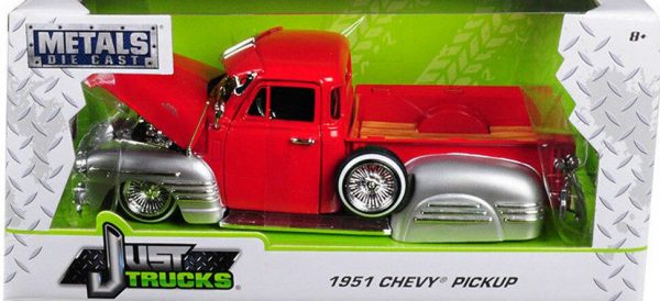 97229r - 1951 CHEVY PICK UP TRUCK - LOW RIDER - JUST TRUCKS