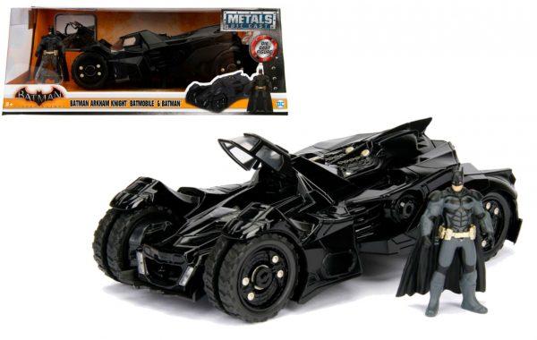 98037 - BATMAN ARKHAM KNIGHT BATMOBILE & BATMAN