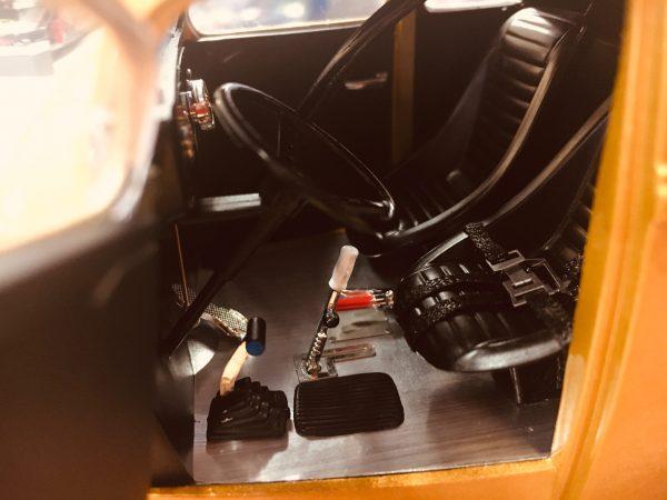 a1800914b - 1933 Willys Gasser Custom - Gold Metallic