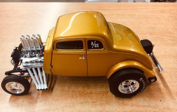 a1800914f - 1933 Willys Gasser Custom - Gold Metallic