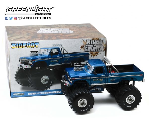 """13541 - Bigfoot #1 - 1974 Ford F-250 Monster Truck with 66"""" Tires"""