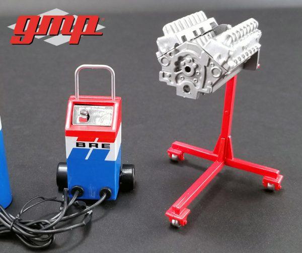 18905d - Brock Racing Enterprises (BRE) - Shop Tool Set by GMP - 1:18 scale