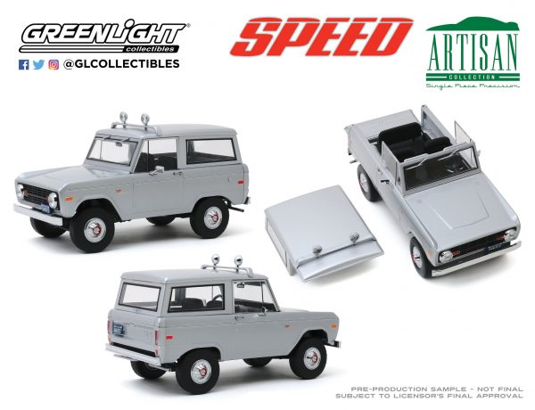 19074c - Speed (1994) - Jack Traven's 1970 Ford Bronco