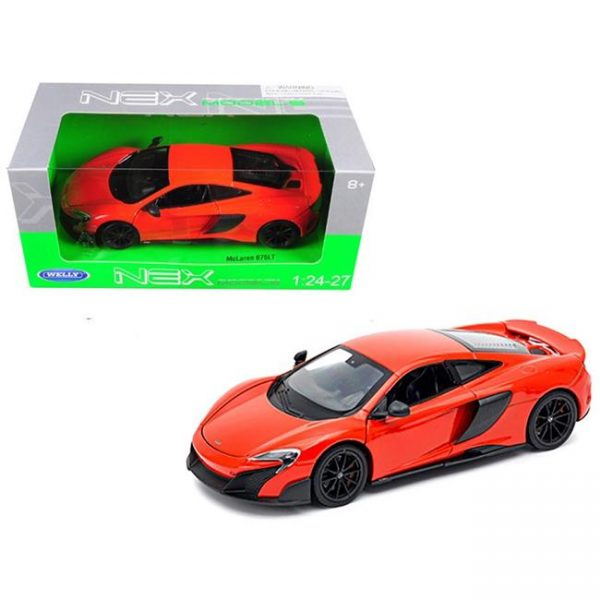 24089r - McLaren 675LT - RED - 1:24 scale