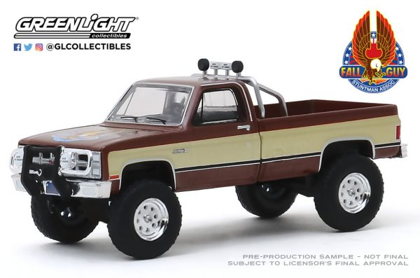 44860f1 - Fall Guy Stuntman Association - 1982 GMC K-2500 Pick Up Truck