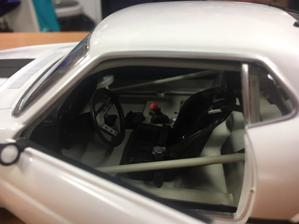 a1801835w1 - 1970 FORD BOSS 302 TRANS AM MUSTANG - STREET VERSION White