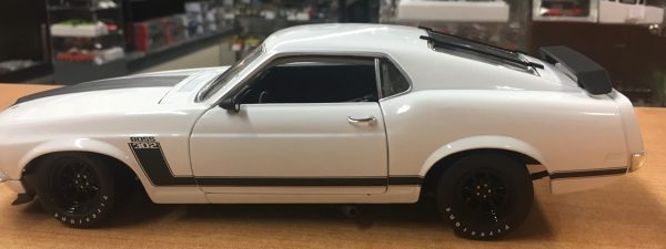 a1801835w4 - 1970 FORD BOSS 302 TRANS AM MUSTANG - STREET VERSION White