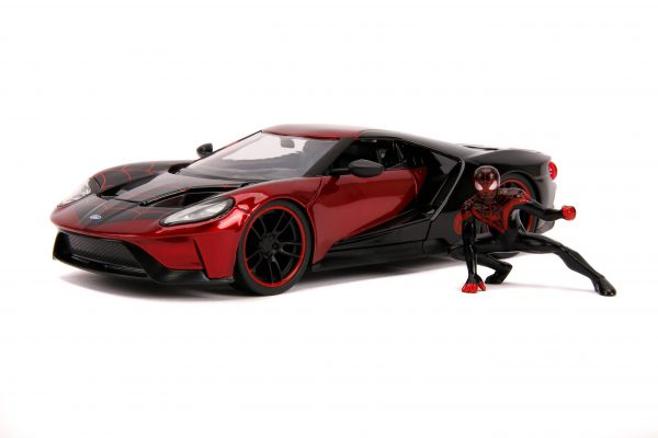 31190 1.24 hwr marvel 2017 ford gt w miles morales 1 scaled - 2017 FORD GT W/MILES MORALES - HOLLYWOOD RIDES