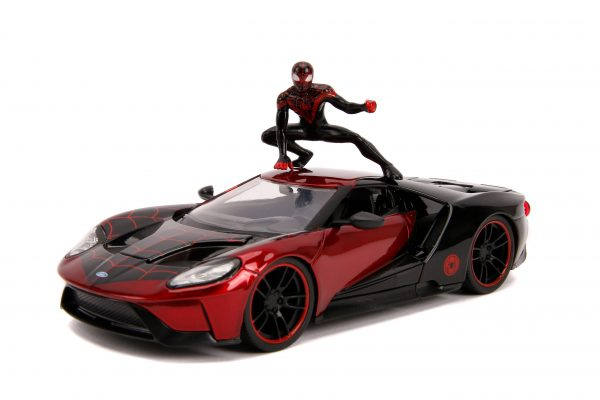 31190 1.24 hwr marvel 2017 ford gt w miles morales 3 scaled - 2017 FORD GT W/MILES MORALES - HOLLYWOOD RIDES