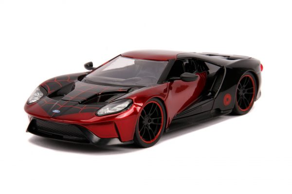 31190 1.24 hwr marvel 2017 ford gt w miles morales 4 - 2017 FORD GT W/MILES MORALES - HOLLYWOOD RIDES