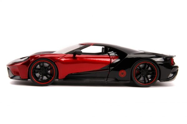 31190 1.24 hwr marvel 2017 ford gt w miles morales 5 - 2017 FORD GT W/MILES MORALES - HOLLYWOOD RIDES