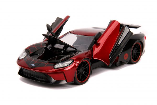 31190 1.24 hwr marvel 2017 ford gt w miles morales 7 scaled - 2017 FORD GT W/MILES MORALES - HOLLYWOOD RIDES