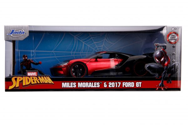 31190 1.24 hwr marvel 2017 ford gt w miles morales 9 scaled - 2017 FORD GT W/MILES MORALES - HOLLYWOOD RIDES