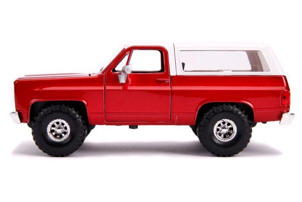 31594 - 1980 CHEVY K5 BLAZER OFF ROAD – METALLIC RED
