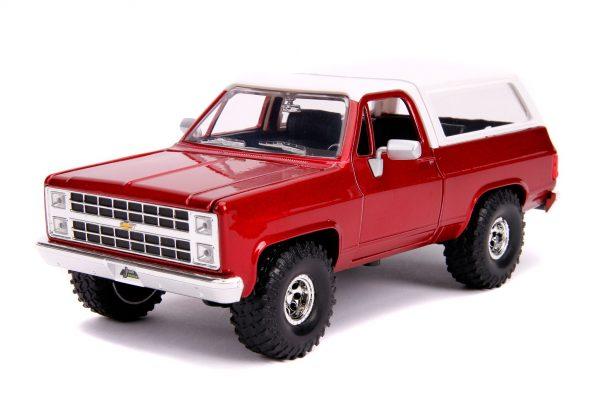 31594c - 1980 CHEVY K5 BLAZER OFF ROAD – METALLIC RED