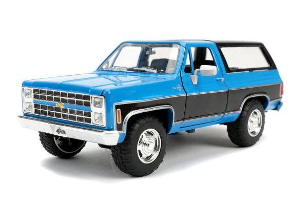 31598 - 1980 CHEVY K5 BLAZER STOCK – GLOSS BLUE