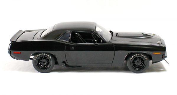 "a1806108 1 - 1970 Plymouth Barracuda Trans Am ""Street Version"" Matte-Black"