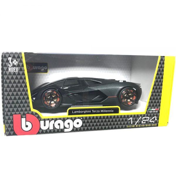 18 21094 grey 2 - Lamborghini Terzo Millenio - Grey