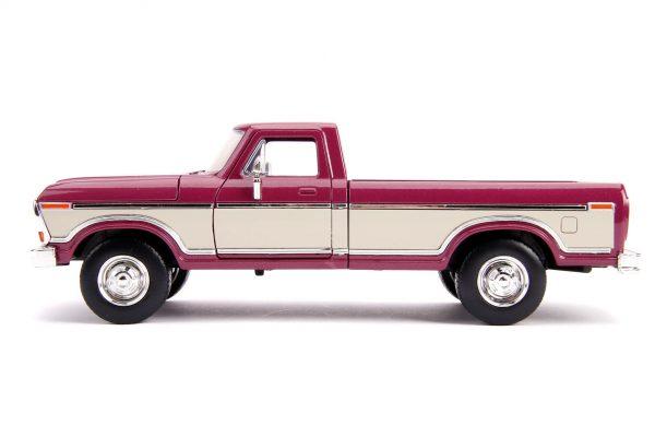 31586 1.24 jt 1979 ford f 150 stock m.burgundy 2 - 1979 FORD F-150 PICKUP STOCK – METALLIC BURGUNDY Just Trucks