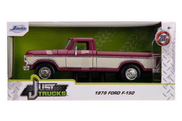 31586 1.24 jt 1979 ford f 150 stock m.burgundy 3 - 1979 FORD F-150 PICKUP STOCK – METALLIC BURGUNDY Just Trucks