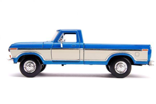31587 1.24 jt 1979 ford f 150 stock m.blue 2 - 1979 FORD F-150 PICKUP STOCK – METALLIC BLUE - Just Trucks