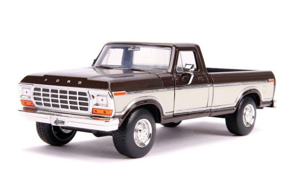 31588 1.24 jt 1979 ford f 150 stock m.brown 1 - 1979 FORD F-150 PICKUP STOCK – METALLIC BROWN - Just Trucks