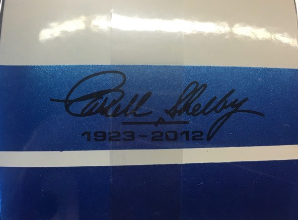 sc 168 1c - 1965 FORD SHELBY GT350R WITH CAROL SHELBY SIGNATURE