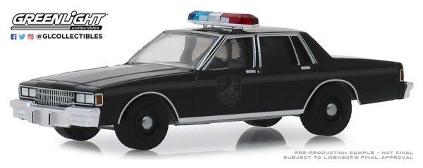 28010d1 - 1980 CHEVROLET CAPRICE BLACK BANDIT POLICE