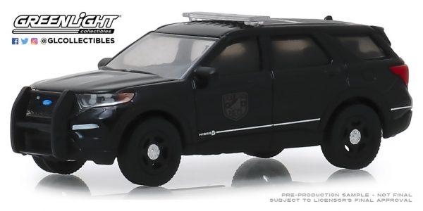 28010f1 - 2020 FORD POLICE INTERCEPTOR UTILITY BLACK BANDIT POLICE