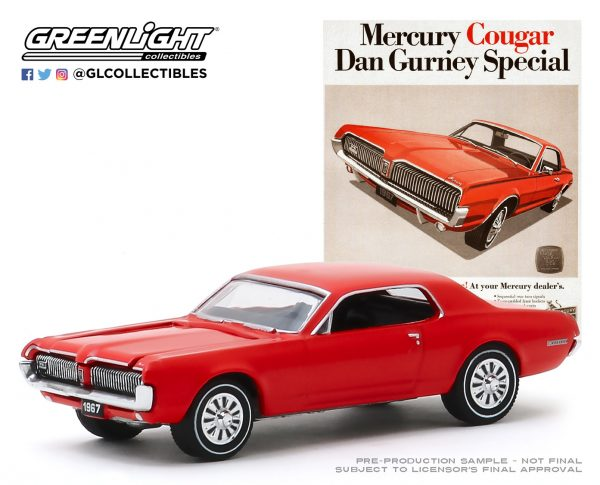 "39030b1 - 1967 Mercury Cougar - ""Mercury Cougar Dan Gurney Special"""