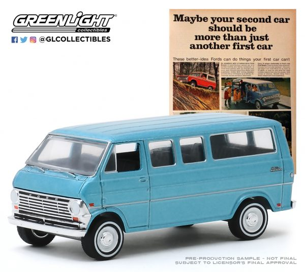 """39030c1 - 1968 Ford Club Wagon - """"Maybe Your Second Car Should Be More Than Just Another First Car"""""""