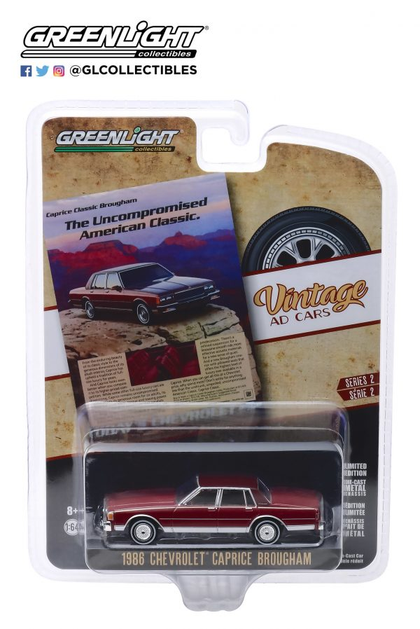 """39030f - 1986 Chevrolet Caprice Brougham - """"The Uncompromised American Classic"""""""