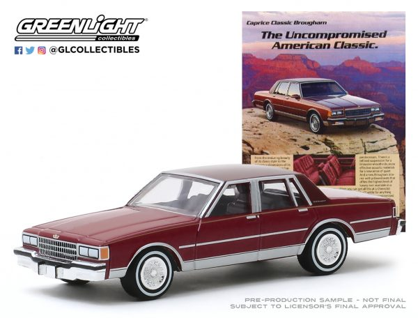 """39030f1 - 1986 Chevrolet Caprice Brougham - """"The Uncompromised American Classic"""""""