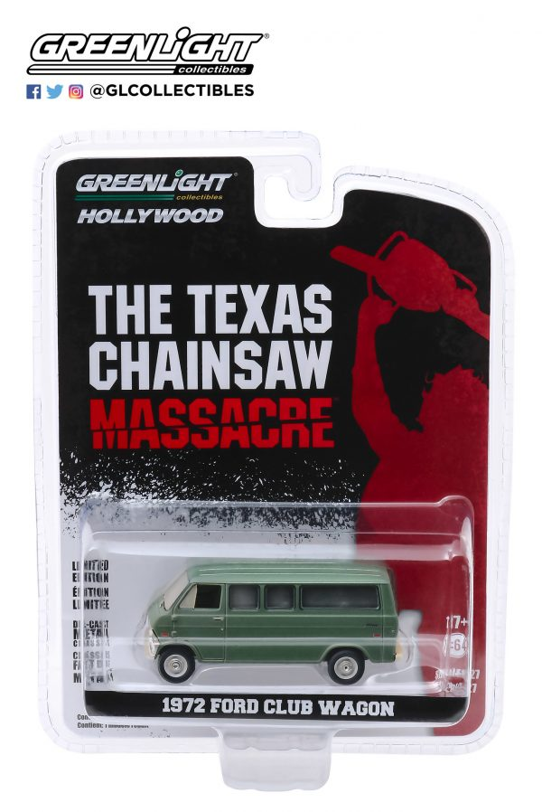 44870a - 1972 Ford Club Wagon - The Texas Chainsaw Massacre (1974)