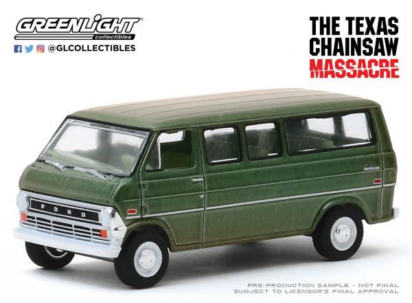 44870a1 - 1972 Ford Club Wagon - The Texas Chainsaw Massacre (1974)